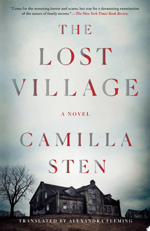 The Lost Village banner backdrop
