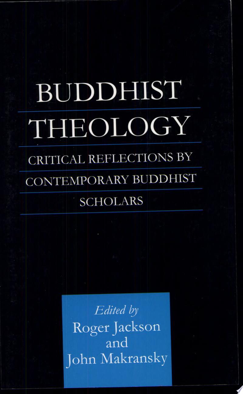 Buddhist Theology banner backdrop