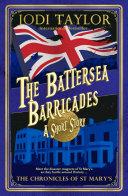 The Battersea Barricades banner backdrop