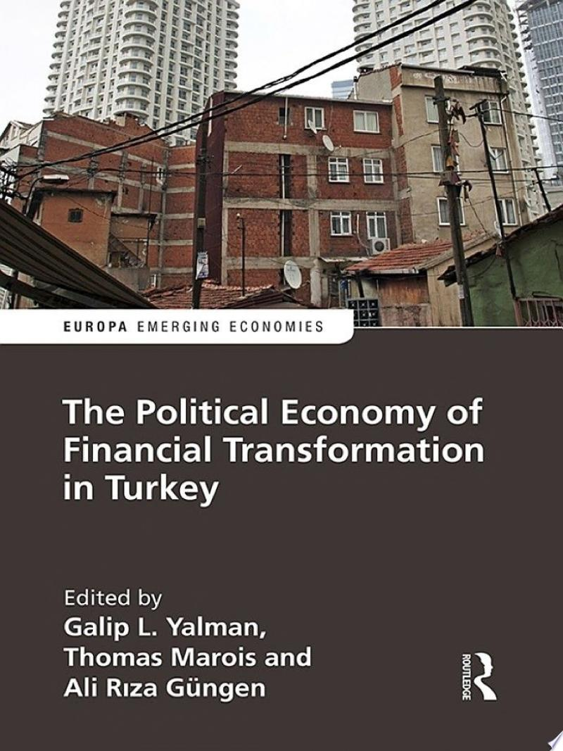 The Political Economy of Financial Transformation in Turkey banner backdrop