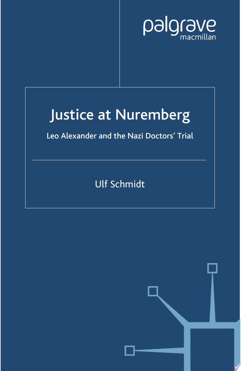 Justice at Nuremberg banner backdrop