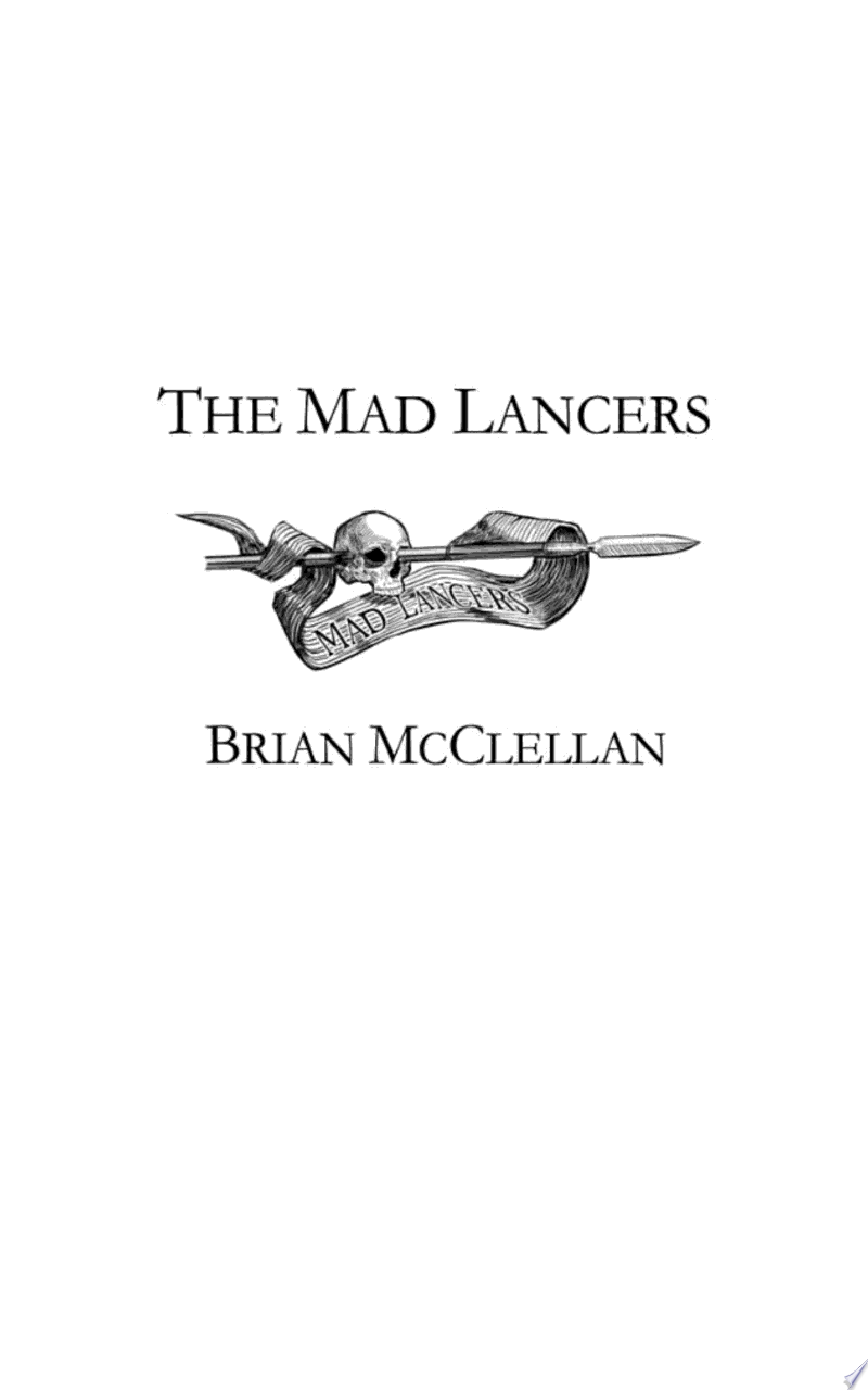 The Mad Lancers banner backdrop