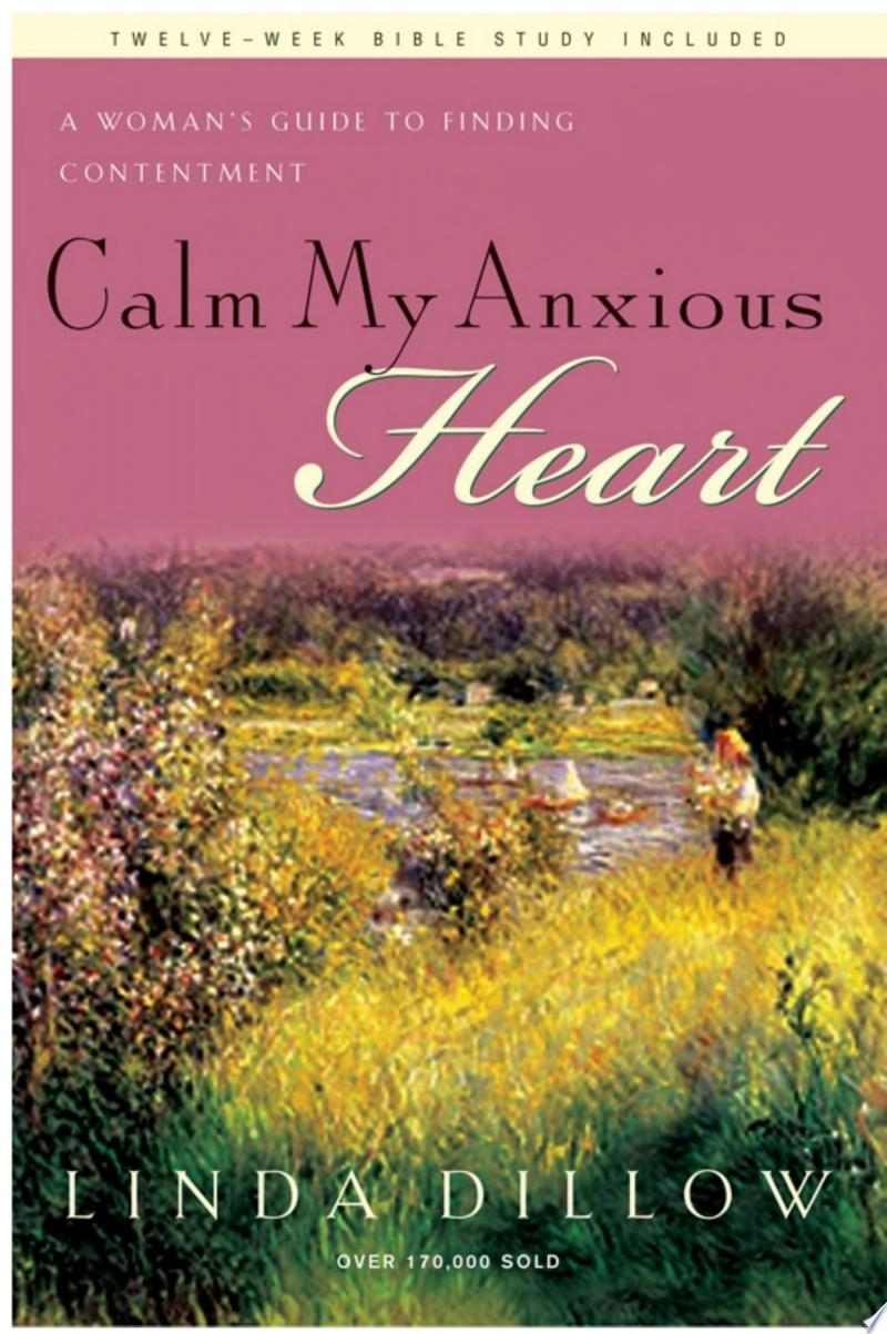 Calm My Anxious Heart banner backdrop