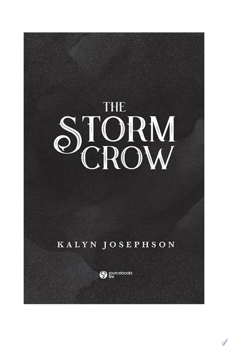 The Storm Crow banner backdrop