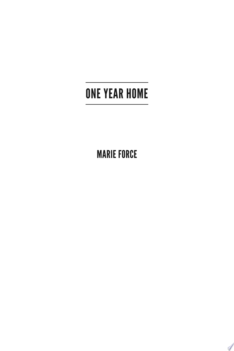 One Year Home banner backdrop