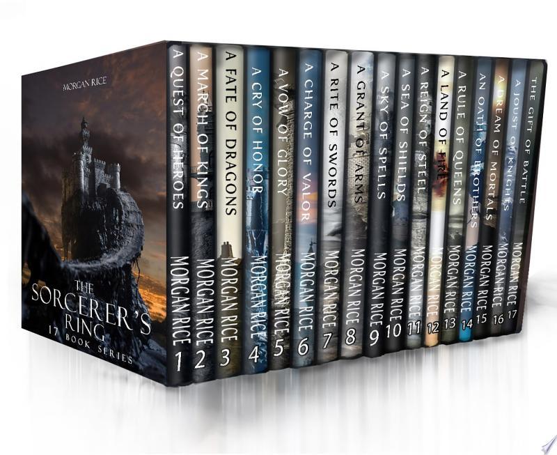 The Complete Sorcerer's Ring Bundle (Books 1--17) banner backdrop
