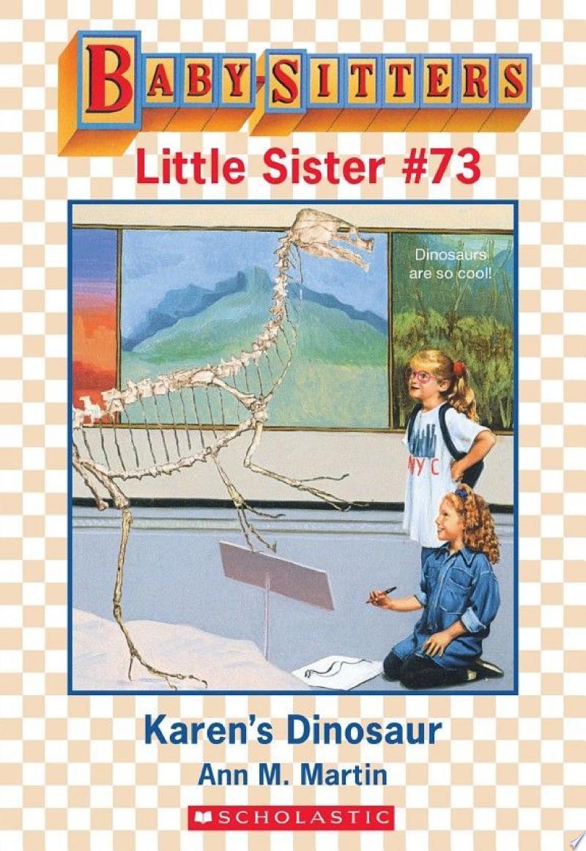 Karen's Dinosaur (Baby-Sitters Little Sister #73) banner backdrop