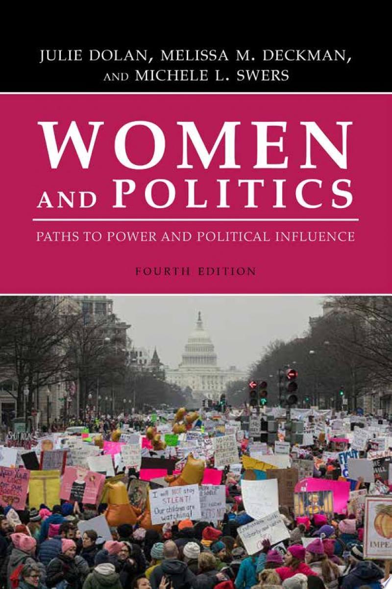 Women and Politics banner backdrop