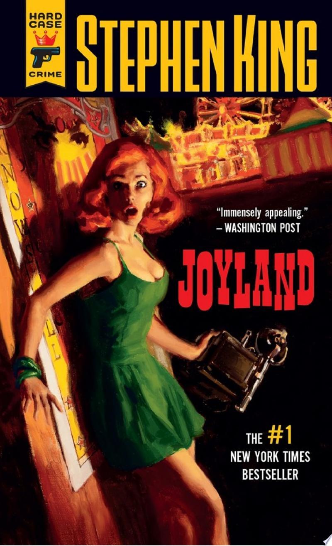Joyland banner backdrop