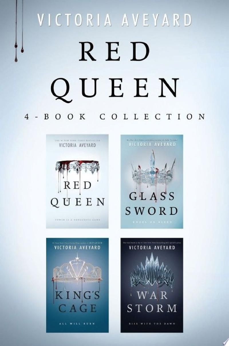 Red Queen 4-Book Collection banner backdrop