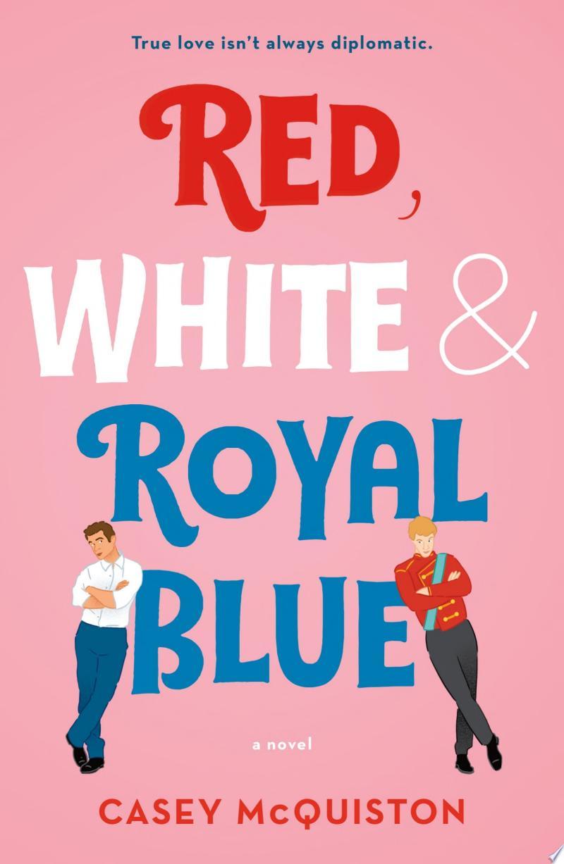 Red, White & Royal Blue banner backdrop
