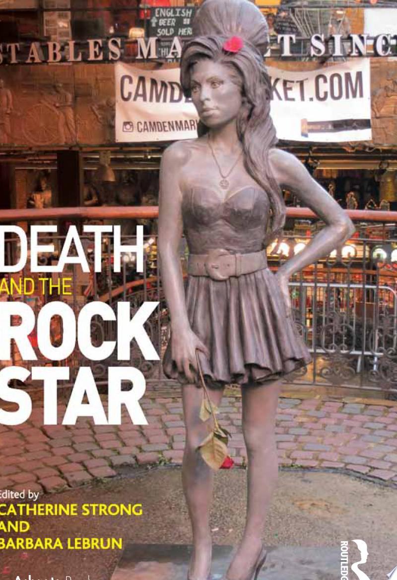 Death and the Rock Star banner backdrop