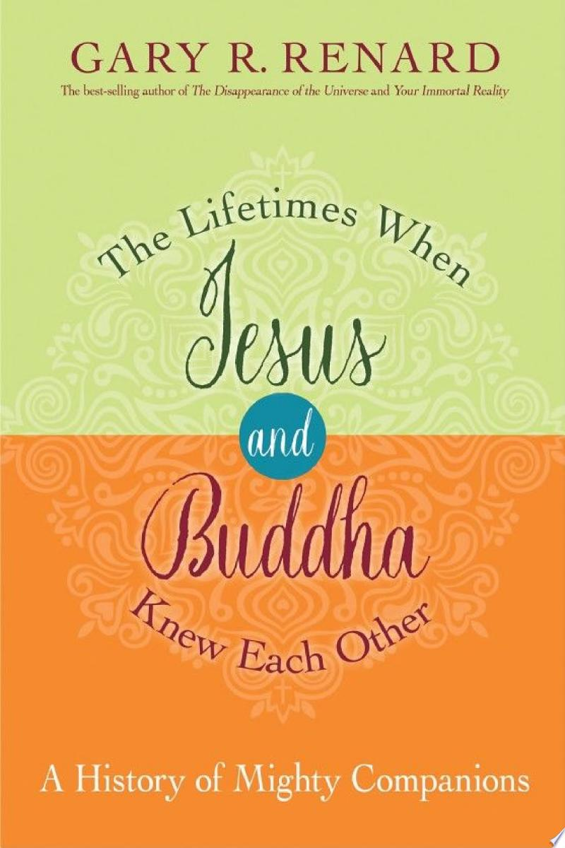 The Lifetimes When Jesus and Buddha Knew Each Other banner backdrop