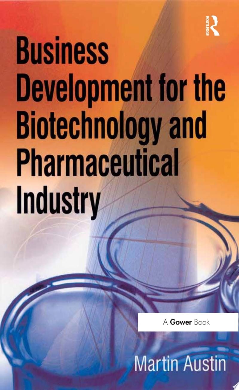Business Development for the Biotechnology and Pharmaceutical Industry banner backdrop