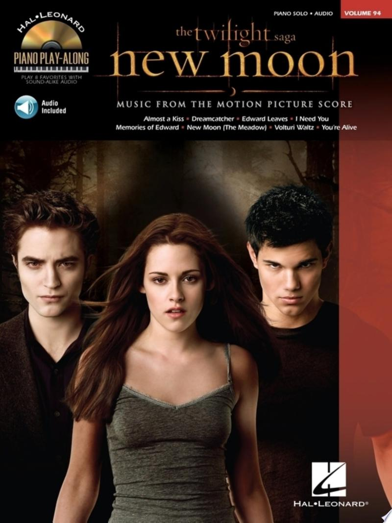 The Twilight Saga - New Moon banner backdrop