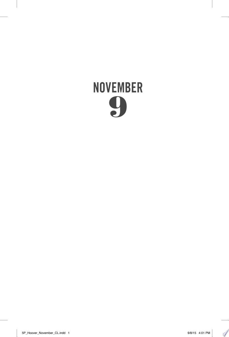 November 9 banner backdrop
