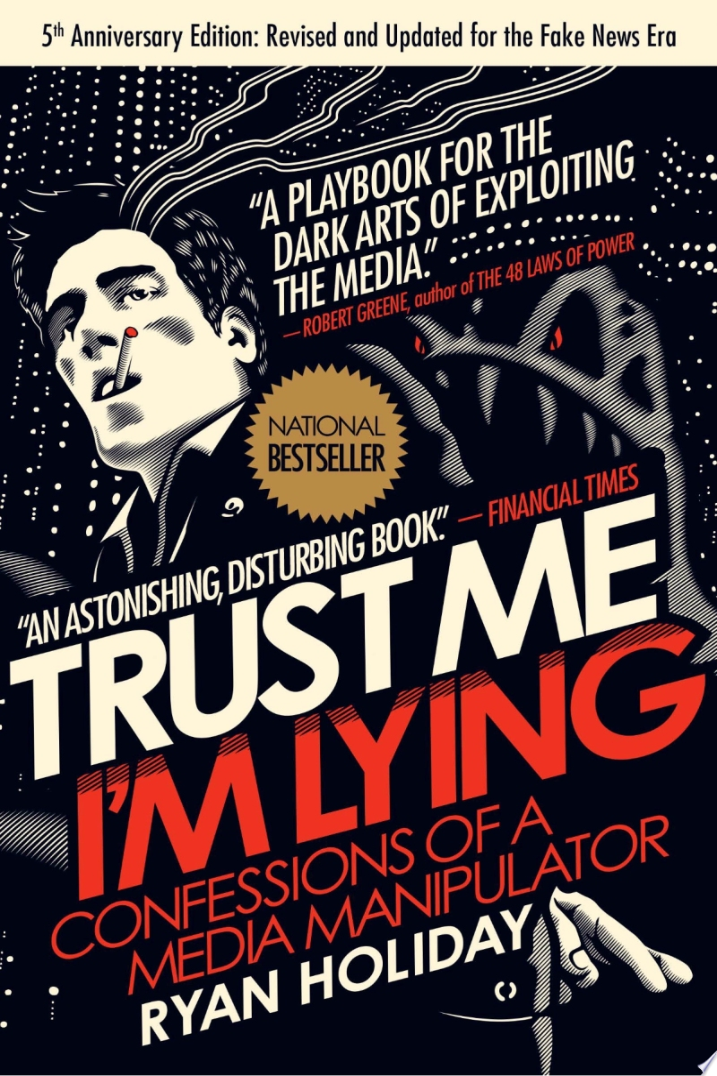 Trust Me, I'm Lying banner backdrop