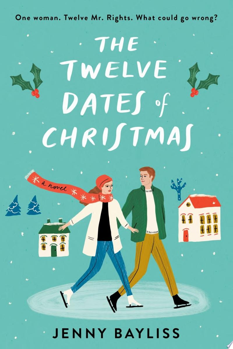 The Twelve Dates of Christmas banner backdrop