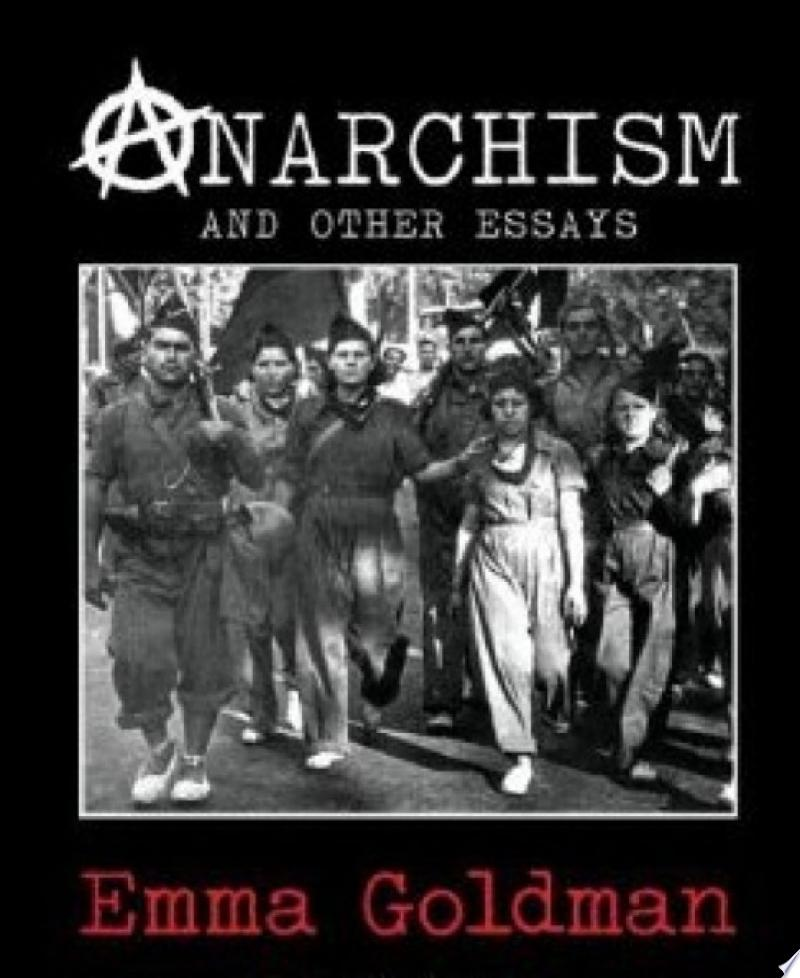 Anarchism and Other Essays banner backdrop