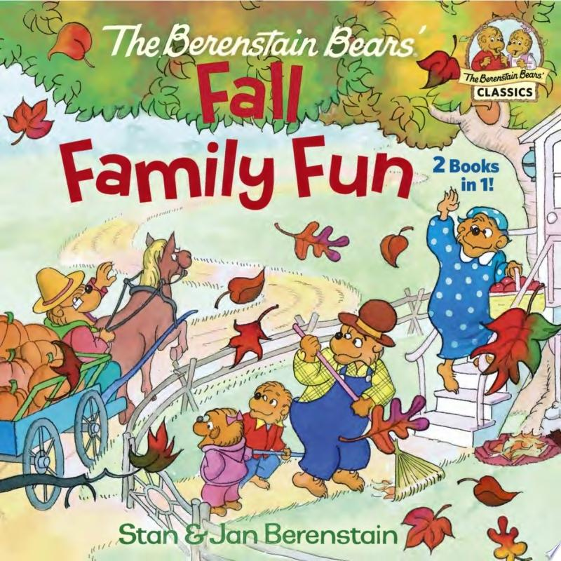 The Berenstain Bears Fall Family Fun banner backdrop