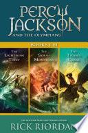 Percy Jackson and the Olympians: Books I-III image