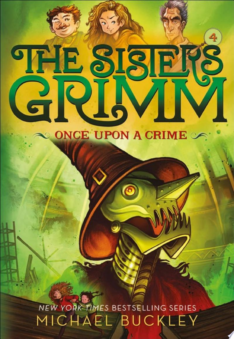 Once Upon a Crime (The Sisters Grimm #4) banner backdrop