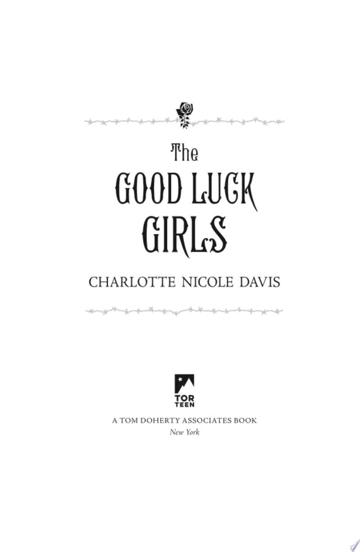 The Good Luck Girls banner backdrop