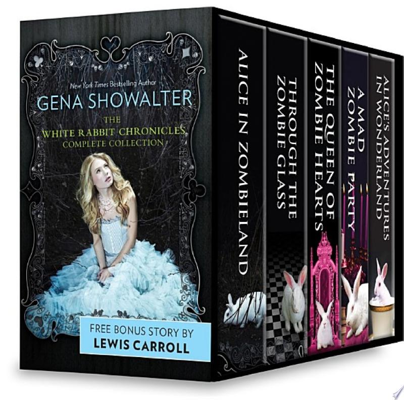 Gena Showalter The White Rabbit Chronicles Complete Collection banner backdrop