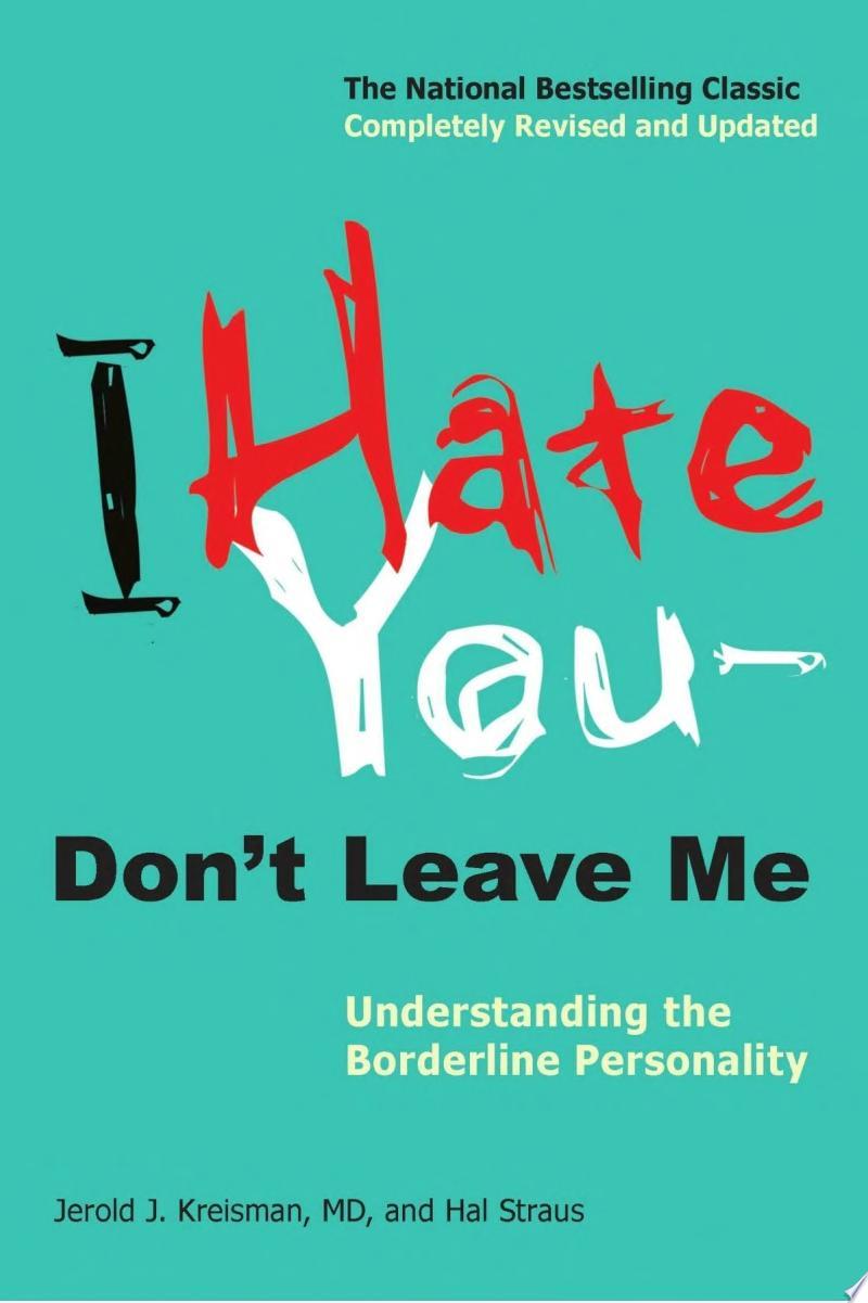 I Hate You-- Don't Leave Me banner backdrop