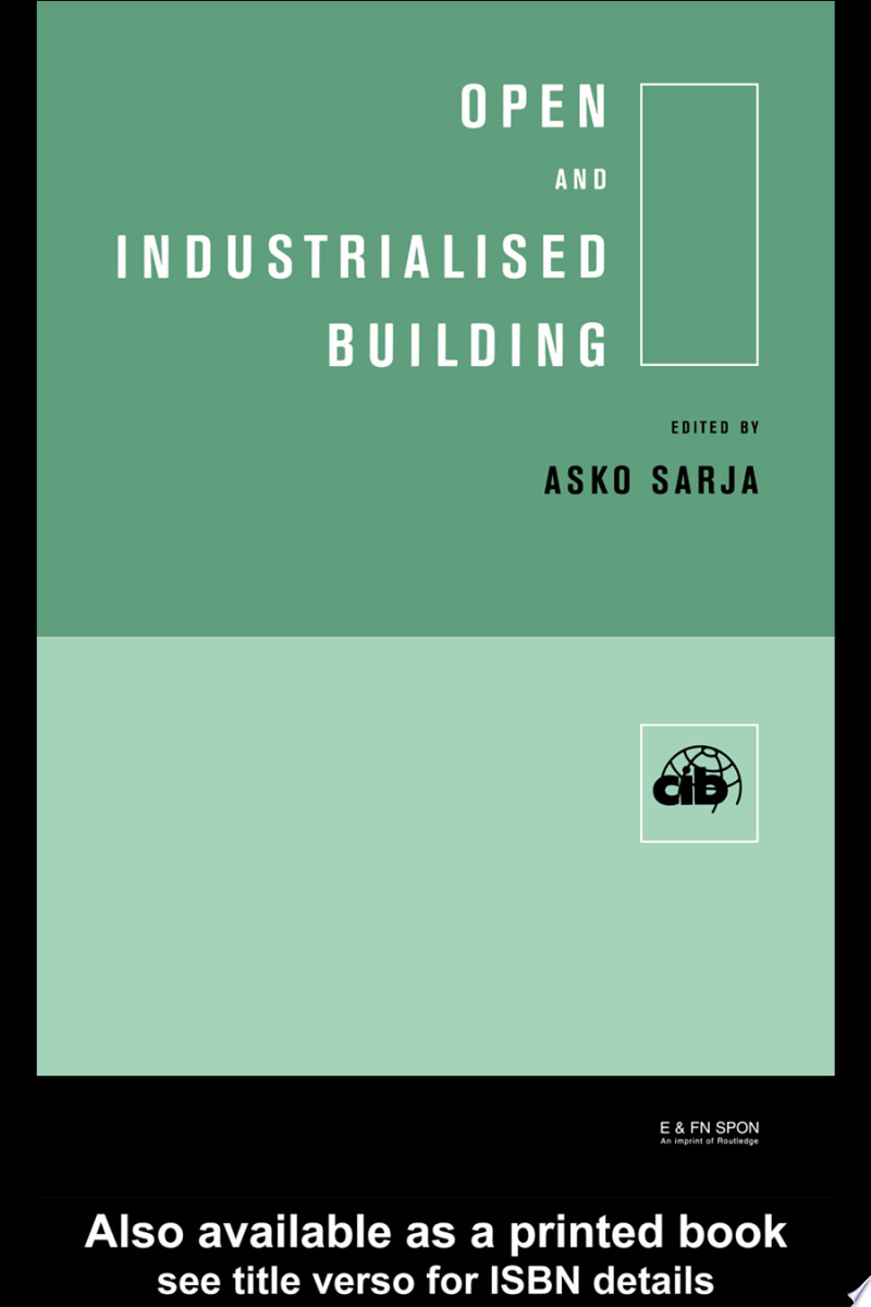 Open and Industrialised Building banner backdrop