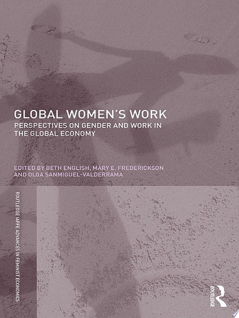 Global Women's Work banner backdrop