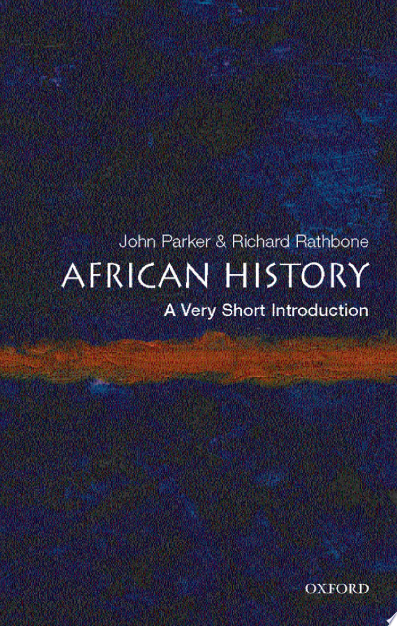 African History: A Very Short Introduction banner backdrop