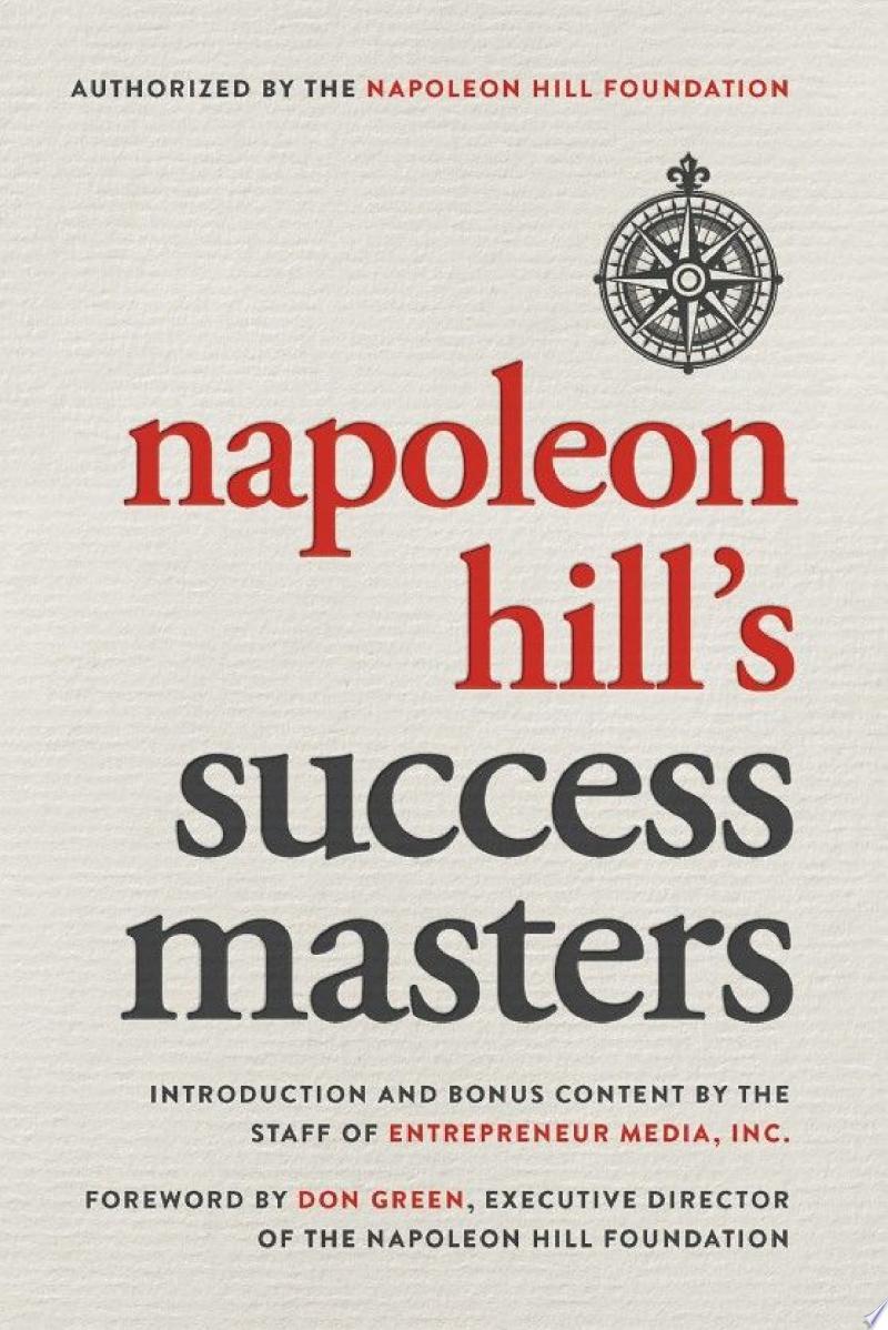 Napoleon Hill's Success Masters banner backdrop