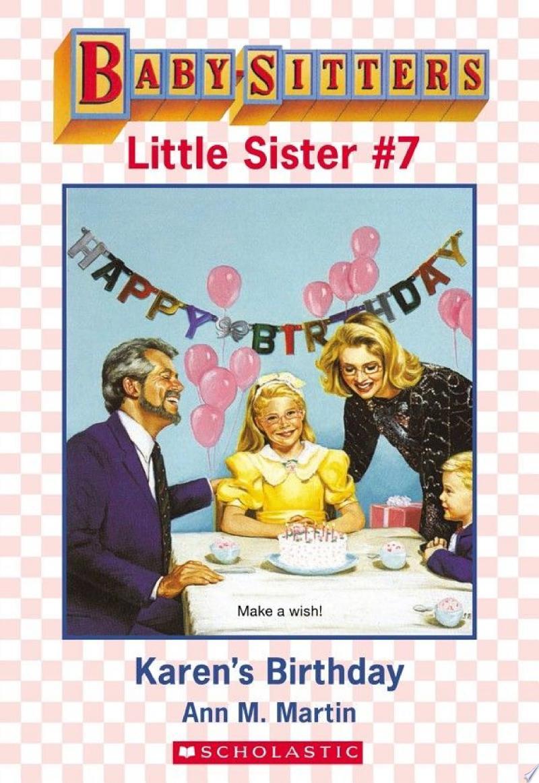 Karen's Birthday (Baby-Sitters Little Sister #7) banner backdrop