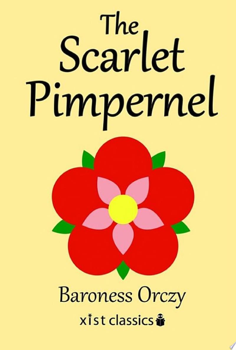 The Scarlet Pimpernel banner backdrop