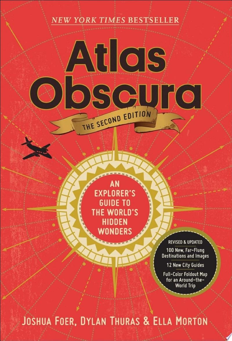 Atlas Obscura, 2nd Edition banner backdrop