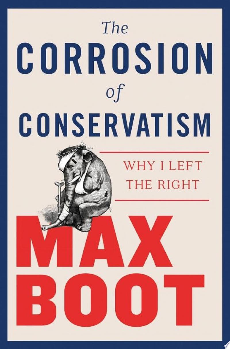 The Corrosion of Conservatism: Why I Left the Right banner backdrop
