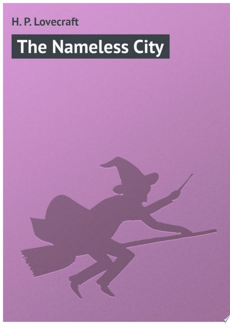 The Nameless City banner backdrop