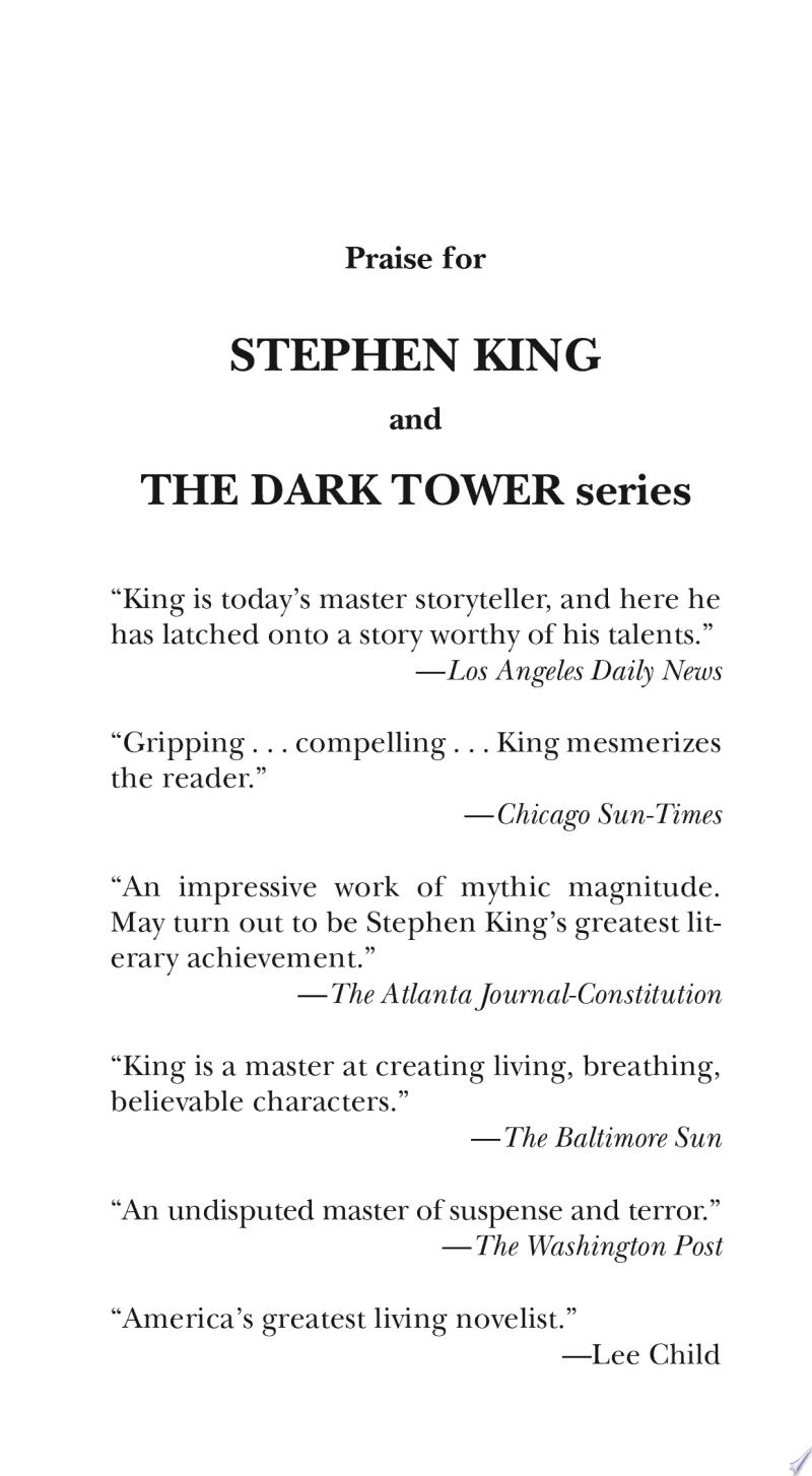 The Dark Tower II banner backdrop