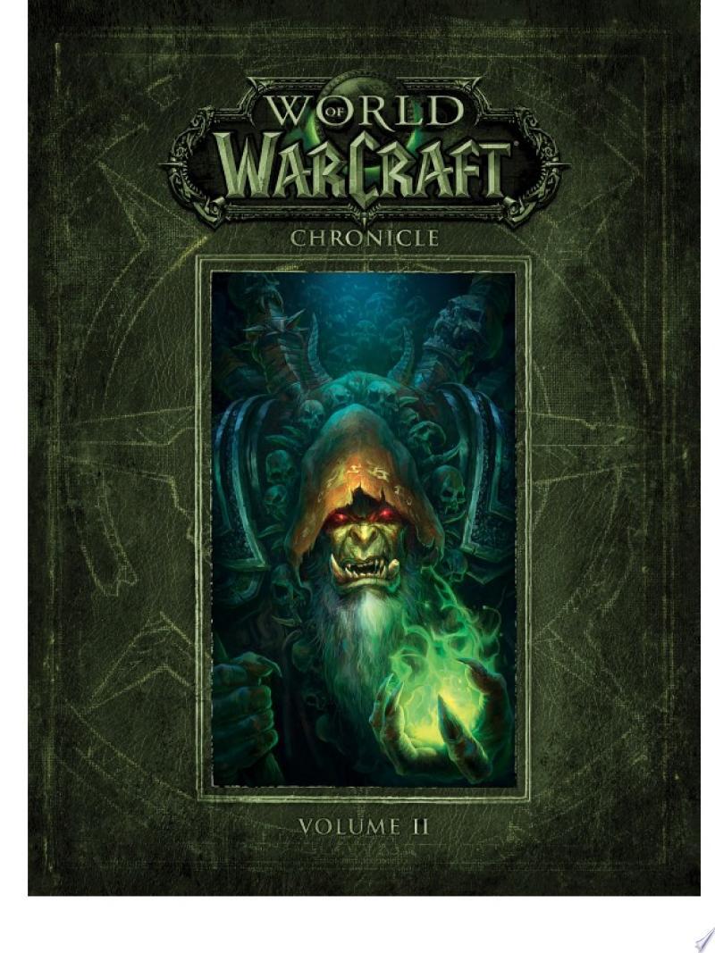 World of Warcraft Chronicle Volume 2 banner backdrop
