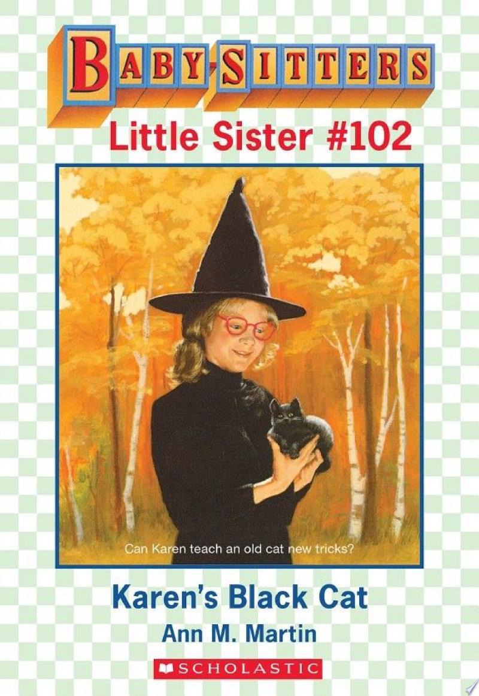 Karen's Black Cat (Baby-Sitters Little Sister #102) banner backdrop