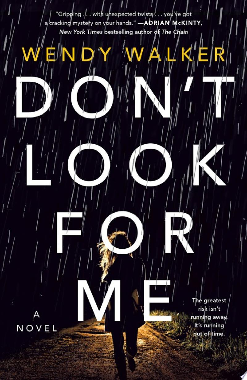 Don't Look for Me banner backdrop