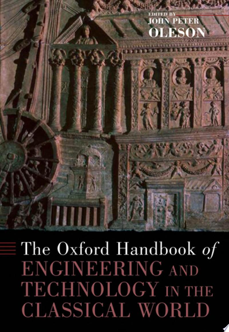 The Oxford Handbook of Engineering and Technology in the Classical World banner backdrop