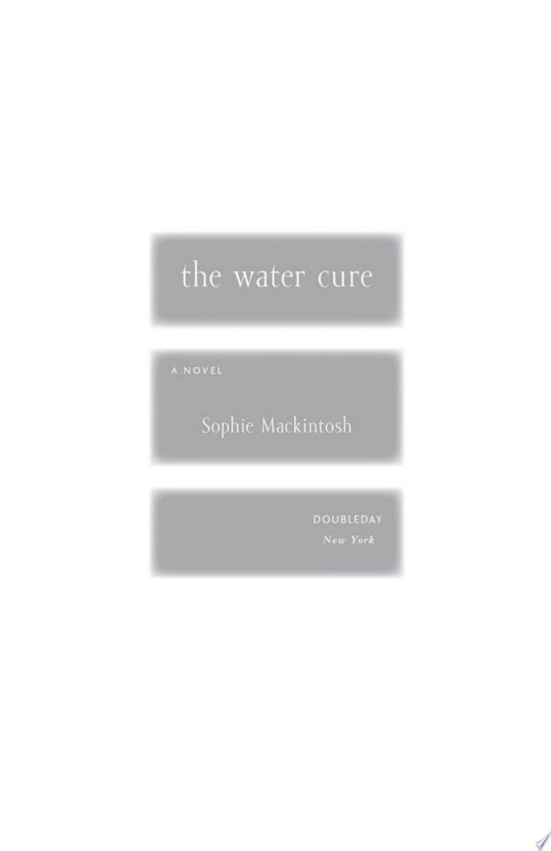 The Water Cure banner backdrop
