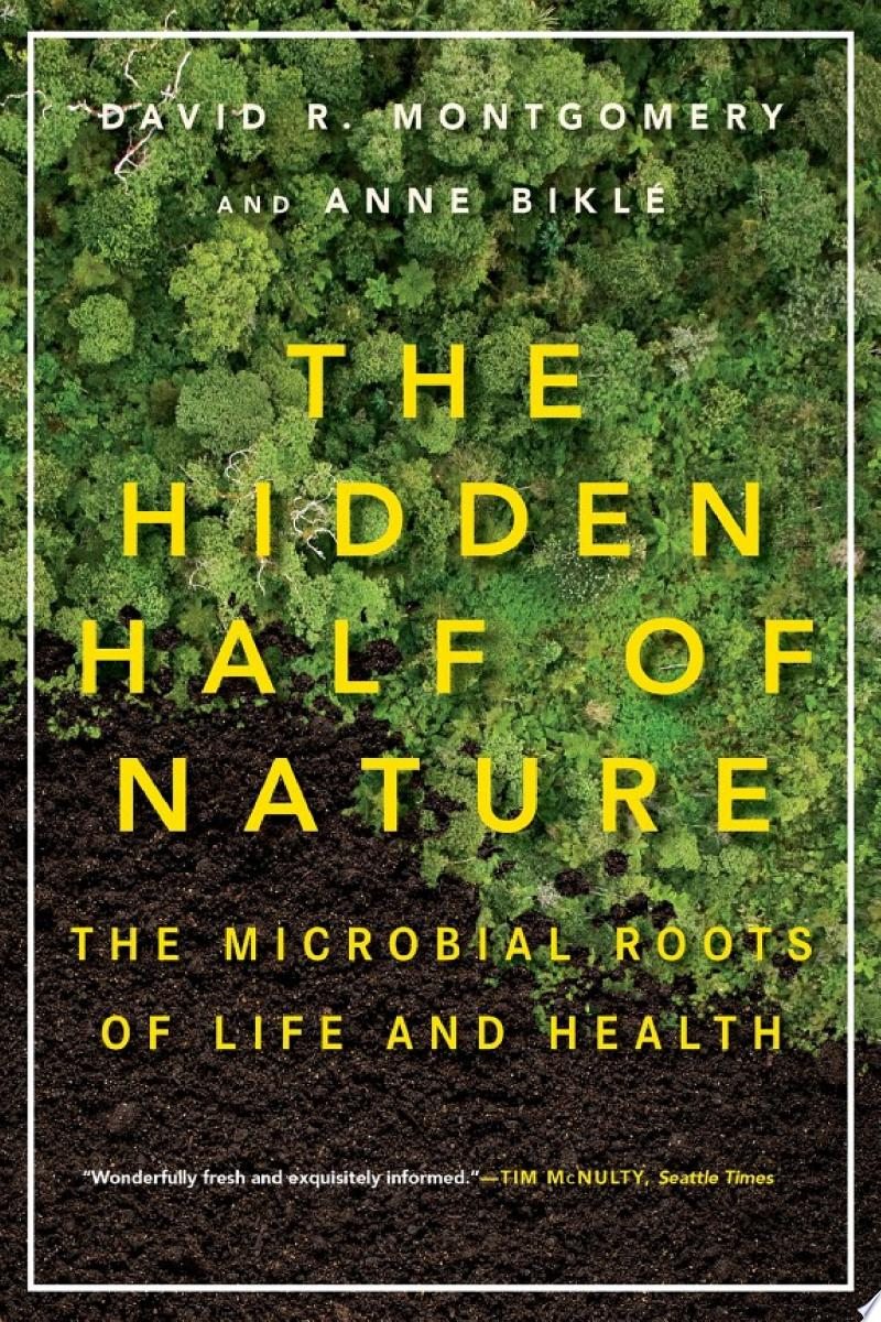 The Hidden Half of Nature: The Microbial Roots of Life and Health banner backdrop