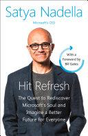 Hit Refresh: A Memoir by Microsoft's CEO banner backdrop