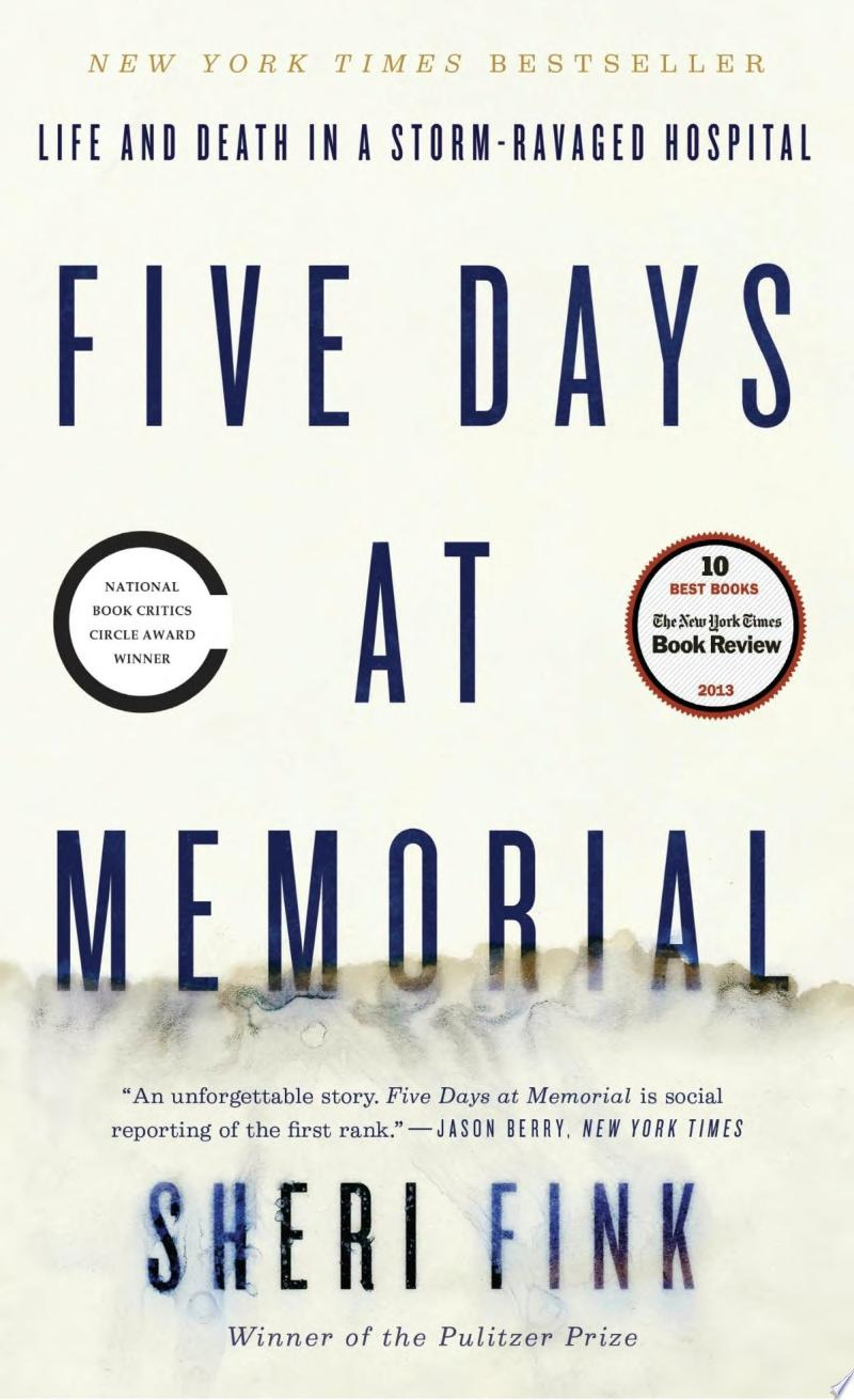 Five Days at Memorial banner backdrop