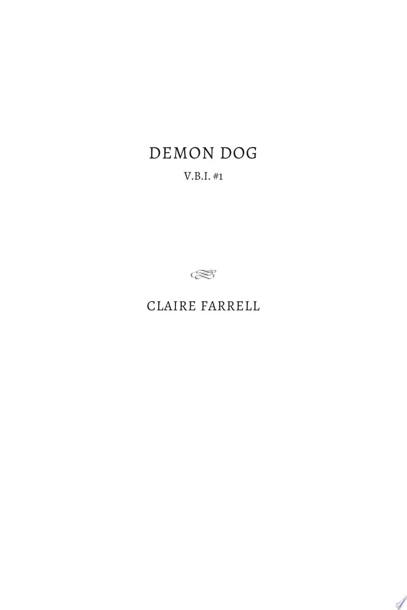 Demon Dog banner backdrop