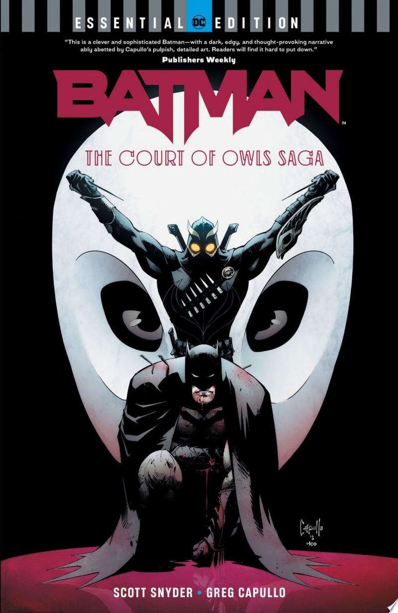 Batman: The Court of Owls Saga (DC Essential Edition) banner backdrop