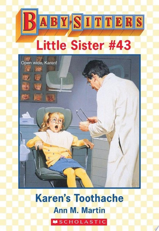 Karen's Toothache (Baby-Sitters Little Sister #43) banner backdrop